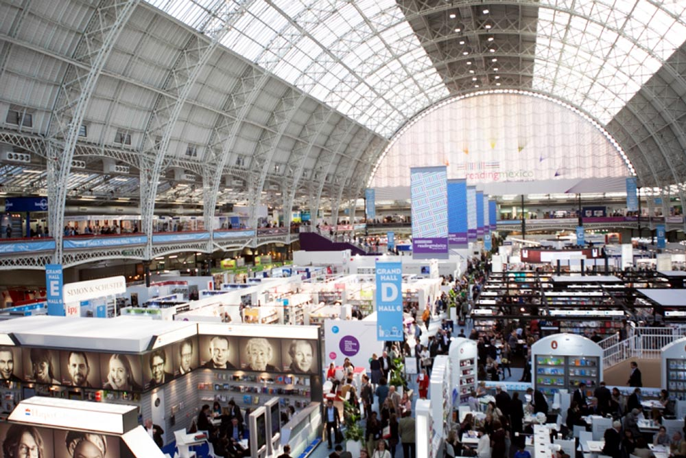 Scene at London Book Fair, Europe has some of the world's largest book events