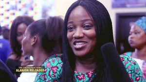 Exciting...A Cinema goer reacts to Alakada Reloaded