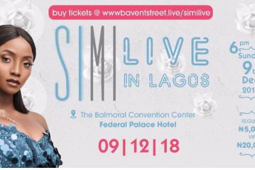 Simi Inaugurates the 2018 Hip Hop Festival Season