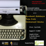 Teju Cole Teaches Writing, CultureFest on Banana Island, Chioma Reads at Quintesence, and The Comedy Season Begins With Ajebo