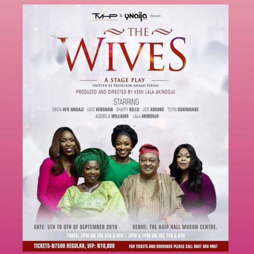 Olu Amoda Shows at Rele, Jazz on the Waterside, 'The Wives' on Stage at  Muson and CCA Returns…