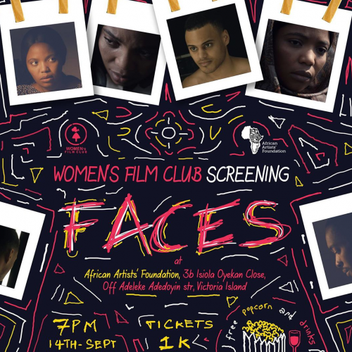 'Faces' is Screening at AAF; Aoiri Reads at Patabah; Lights, Camera, Africa! Jazz at the Waterfront; Felabration Loading..