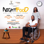 'Night Food' on Stage at Terra; Playright Competition Going, Going…; Iceberg & Mallen at The Park; Banigbe's Reading at Quintessence, Lights, Camera, Africa!; Felabration Loading..