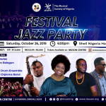 Festival Jazz party at Muson, War of Words in Lekki, IDA Screens at Parkview, Whumanizer' Stages at AF, Ake Fest till Sunday, Labaf Loading..