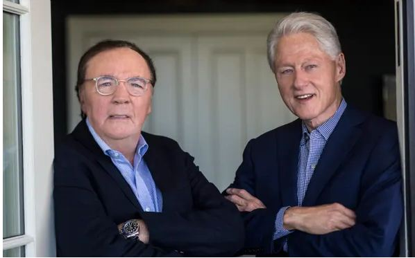 Bill Clinton writing second thriller with James Patterson